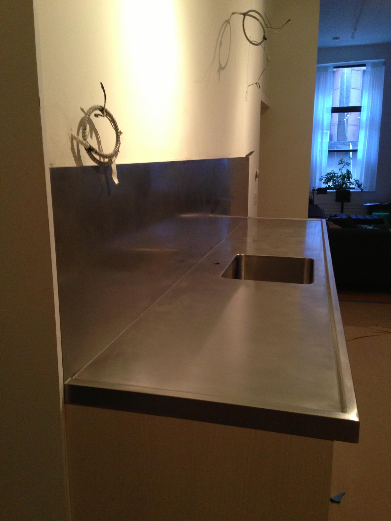 J Amp J Stainless Steel Supplies Inc Counter Top
